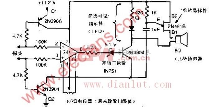 通导率测试器电路特性