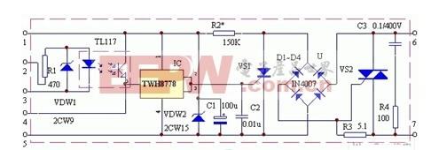 多敏固态控制器电路