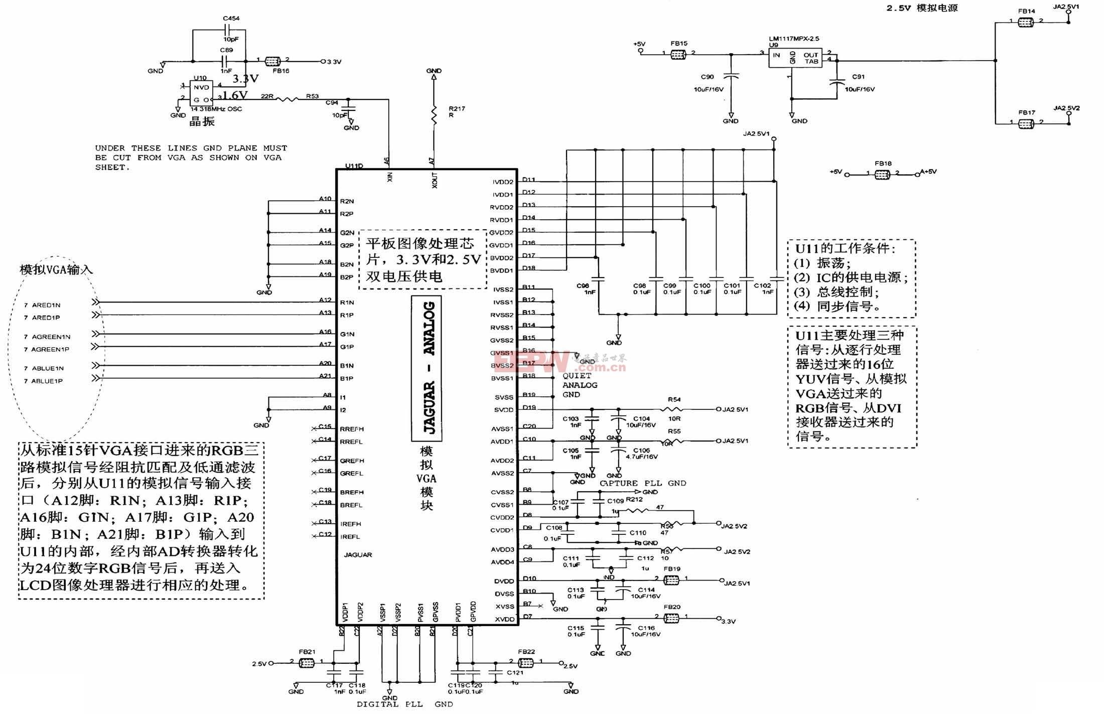 TCL王牌液晶彩电(26H机芯)数字板电路原理图