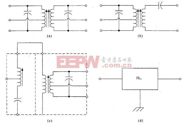 多种中频滤波器电路 -滤波电路图