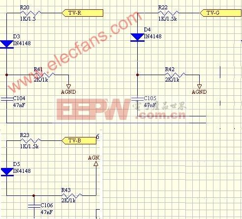 VGR信号输入滤波电路