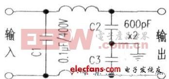 网络滤波电路原理图