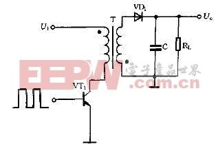 单端反激式开关电源典型电路图