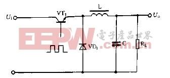 降压式开关电源典型电路图