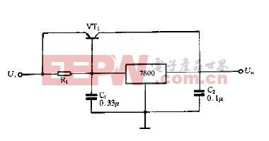 扩展输出电流电路图