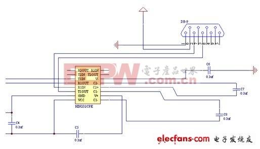 电平转换电路原理图