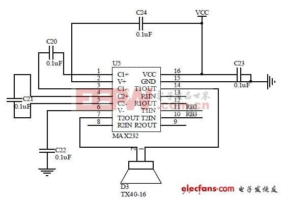 图2 系统发射电路图