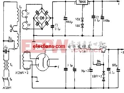 一种低噪声电子管电源电路