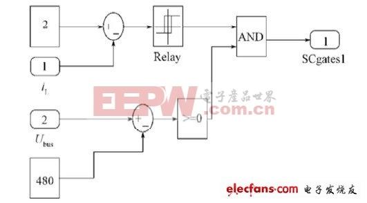 电压暂降治理原理图