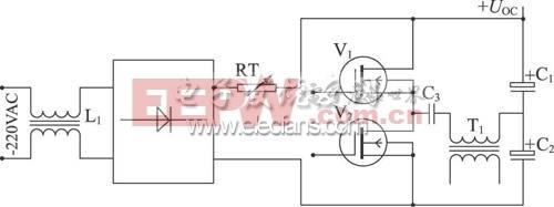 负温度系数电阻构成的输入软启动电路