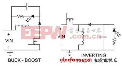 两种降压升压电路原理图