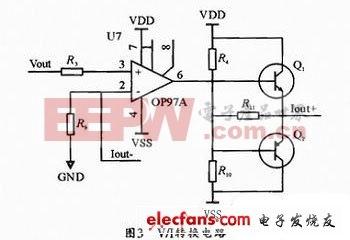 基于OP97A的V/I转换电路