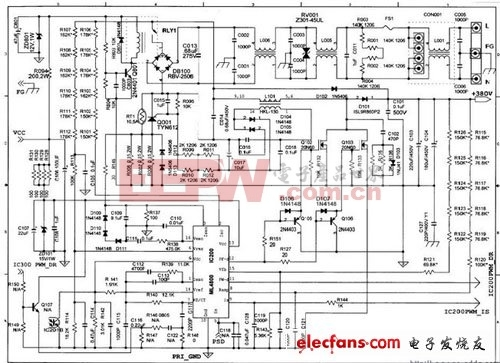 DELL服务器电源电路图