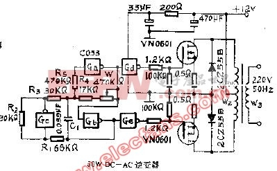 50W DA-AC逆变器电路
