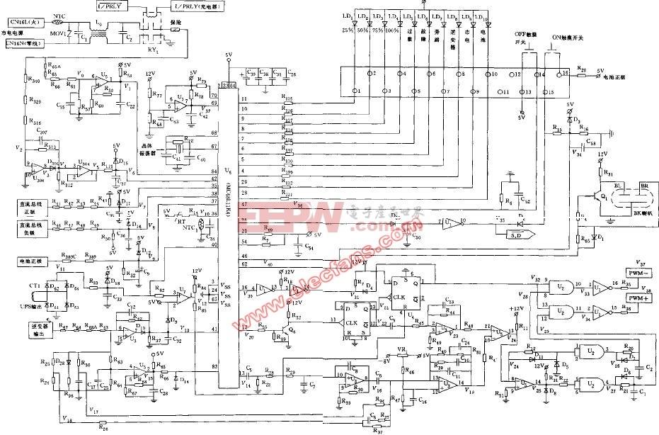 可控硅零触发交流稳压电源电路 -其他电源电路图图片