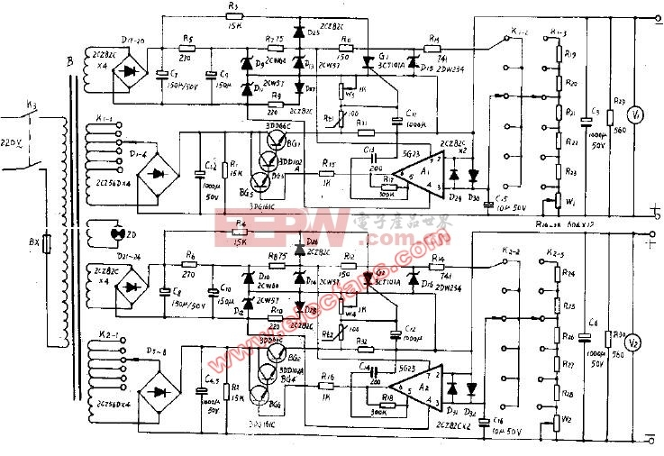 WYJ30-2型直流稳压电源