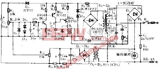 简易交流稳压电源电路 -交流稳压图片
