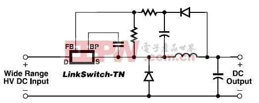 典型的降压型(BUCK)转换器应用(关于其它电路的应