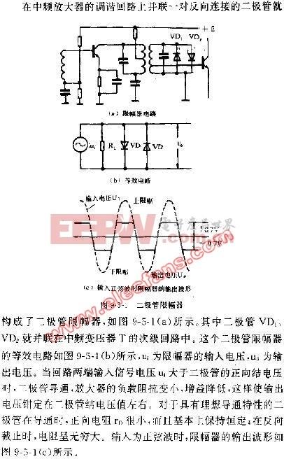 限幅器电路图