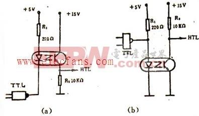 光電耦合器應用電路