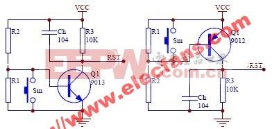 带电压监控功能的复位电路