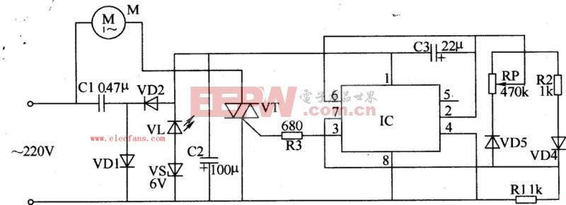 风扇调速器工作原理-电子调速器工作原理