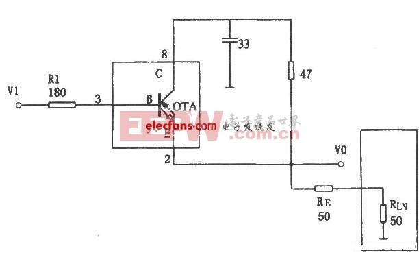 极宽带大电流缓冲器电路