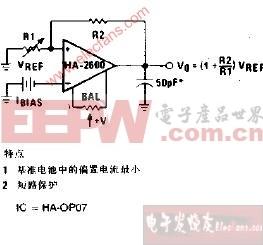 基准电压放大器电路图图片