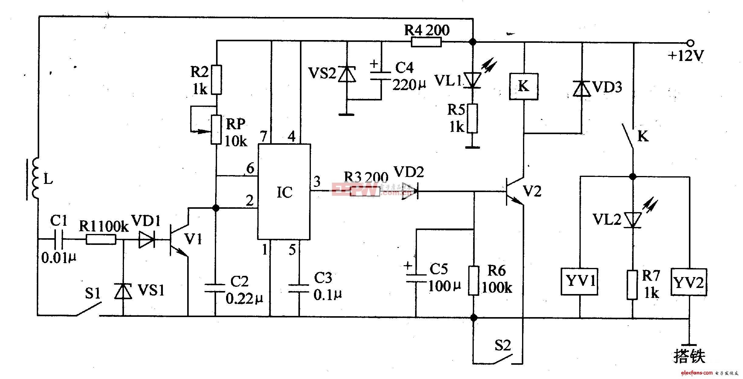 首页 机动车 电动车电路图 汽车电子电路图 ->汽车电子节油器电路设计