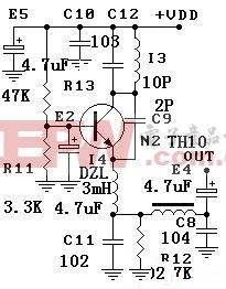 超再生接收电路原理
