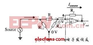 三端隔绝测量电路原理图