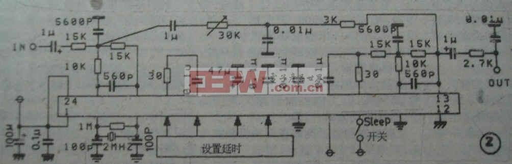 M65831P典型应用电路图