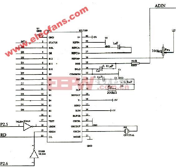 ICL7109应用电路图