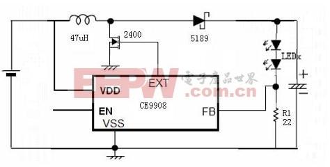 CE9908应用电路