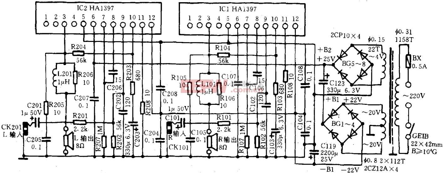 功率放大电路-电路图-电子产品世界
