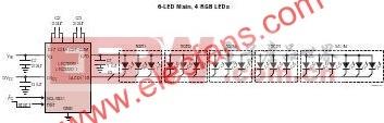 LTC3220/LTC3220-1-360mA通用型18通道