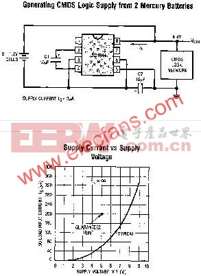 LTC1044典型应用电路  www.elecfans.com