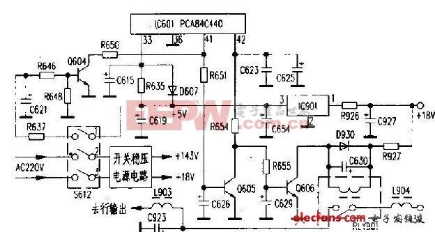 电路原理图-红外传感器图