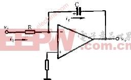 积分器基本电路图