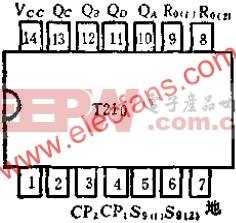 T210 2-5-10进制计数和减法计数的应用电路图  www.elecfans.com