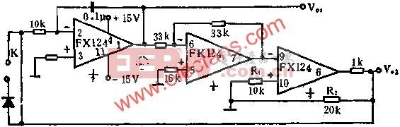 FX124组成的多种波形发生器电路图