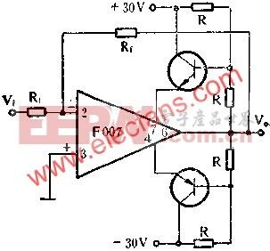 提高输出电压放大器电路图图片