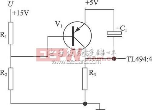 TL494构成的开关电源脉宽调制器原理图