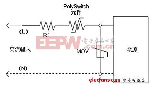 典型开关电源保护电路