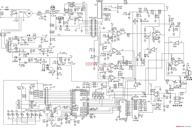 DC2-13型万宝电磁炉原理图