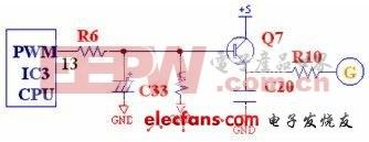 PWM脉宽调控电路