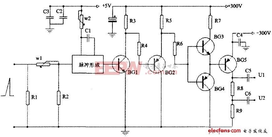 -300V大脉宽可调电路