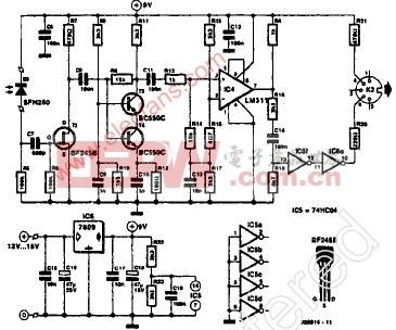 音乐设备数字接口(MIDI)接收机