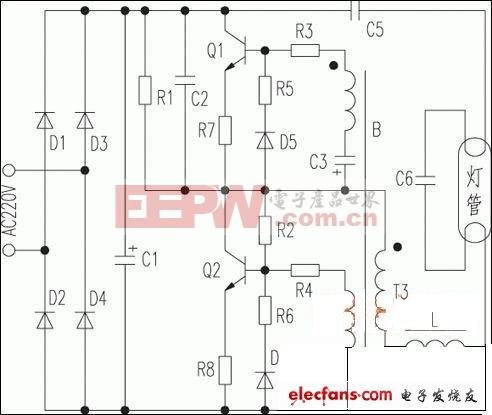 led节能灯维修电路图高清图片