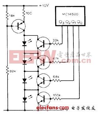 一种LED低功耗电路图